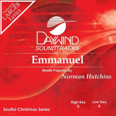 Emmanuel  [Music Download] -     By: Norman Hutchins