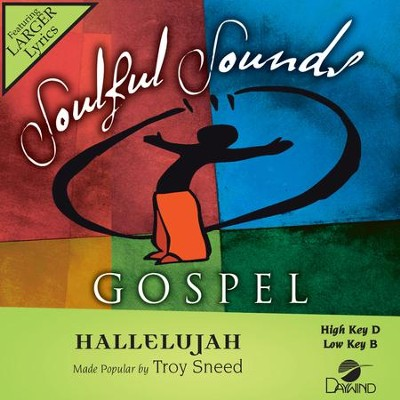 Hallelujah  [Music Download] -     By: Troy Sneed