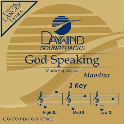 God Speaking  [Music Download] -     By: Mandisa