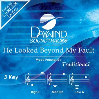 He Looked Beyond My Fault  [Music Download] -