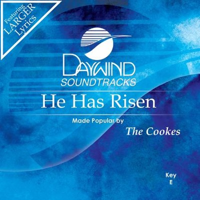 He Has Risen  [Music Download] -     By: The Cookes