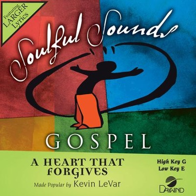 Heart That Forgives  [Music Download] -     By: Kevin LeVar