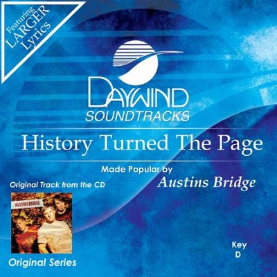 History Turned The Page  [Music Download] -     By: Austins Bridge