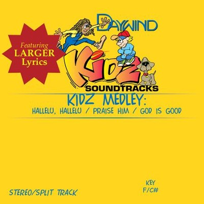 Kidz Medley (Hallelu Hallelu, Praise Him, God Is Good)  [Music Download] -
