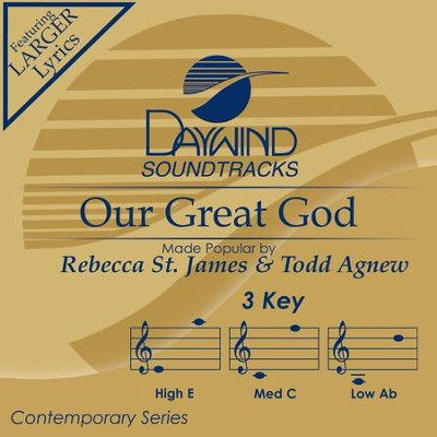 Our Great God  [Music Download] -     By: Rebecca St. James, Todd Agnew