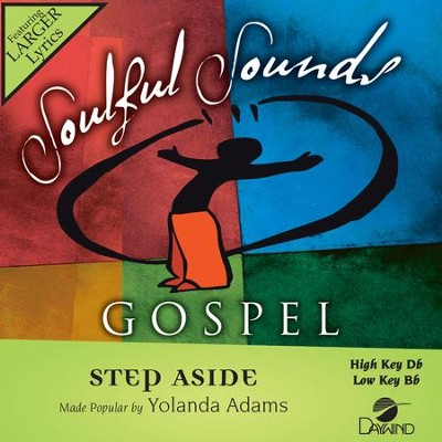 Step Aside  [Music Download] -     By: Yolanda Adams