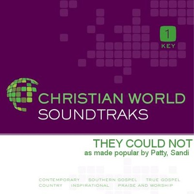 They Could Not   [Music Download] -     By: Sandi Patty
