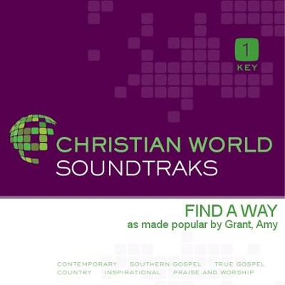 Find A Way  [Music Download] -     By: Amy Grant