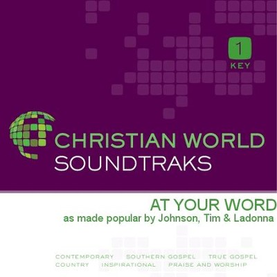 At Your Word  [Music Download] -     By: Tim Johnson