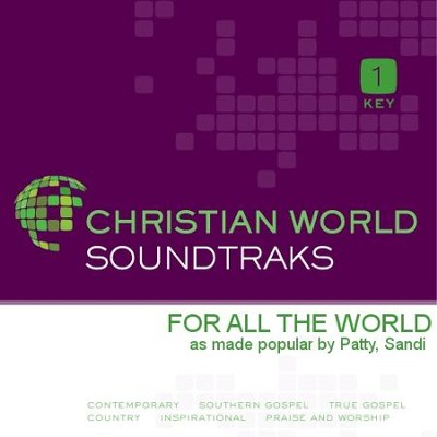 For All The World   [Music Download] -     By: Sandi Patty