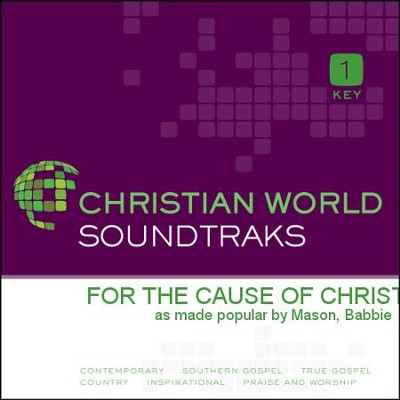 For The Cause Of Christ   [Music Download] -     By: Babbie Mason