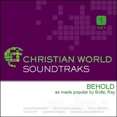 Behold  [Music Download] -     By: Ray Boltz