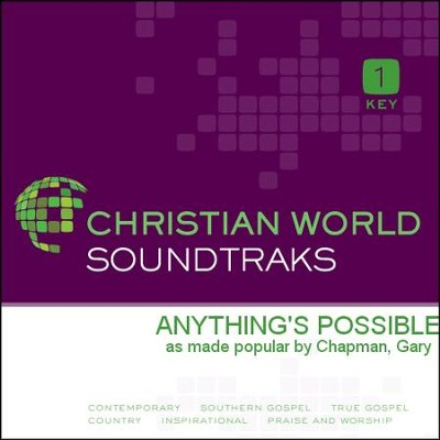 Anything'S Possible  [Music Download] -     By: Gary Chapman