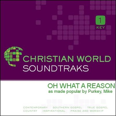 Oh What A Reason   [Music Download] -     By: Mike Purkey