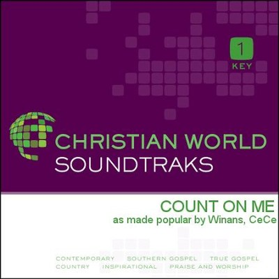 Count On Me  [Music Download] -     By: CeCe Winans