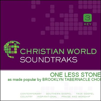 One Less Stone   [Music Download] -     By: The Brooklyn Tabernacle Choir