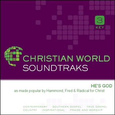 He's God  [Music Download] -     By: Fred Hammond, Radical For Christ