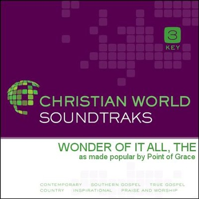 The Wonder Of It All   [Music Download] -     By: Point of Grace