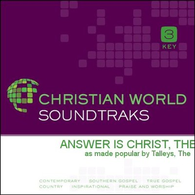 Answer Is Christ, The  [Music Download] -     By: The Talleys