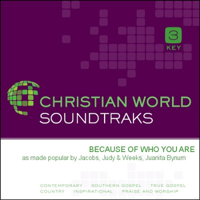Because Of Who You Are  [Music Download] -     By: Judy Jacobs