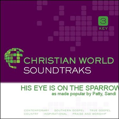 His Eye Is On the Sparrow   [Music Download] -     By: Sandi Patty