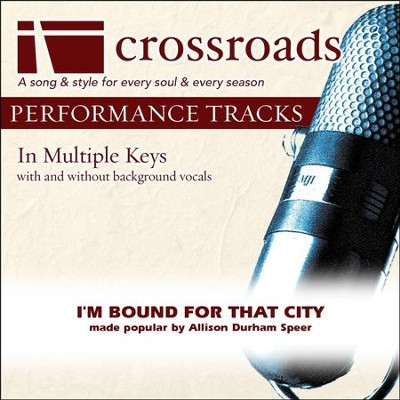 Performance Track High with Background Vocals in G  [Music Download] -