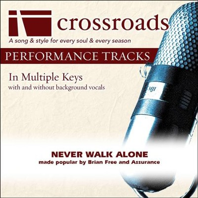 Performance Track Original without Background Vocals in F  [Music Download] -