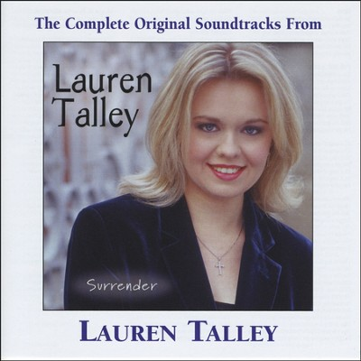 I Surrender All (Performance Track)  [Music Download] -     By: Lauren Talley