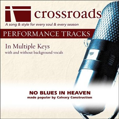 Performance Track Low without Background Vocals in E  [Music Download] -