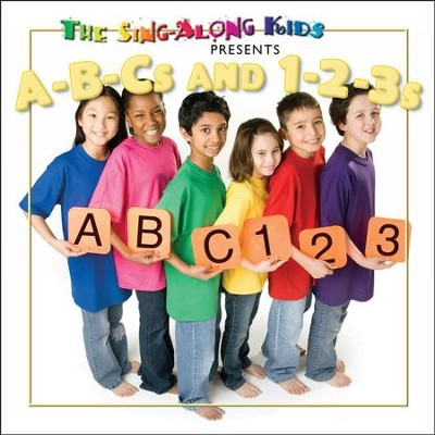 A-B-Cs And 1-2-3s  [Music Download] -     By: The Sing-Along Kids