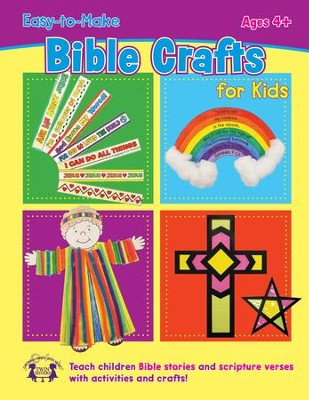 Easy-to-Make Bible Crafts PDF for Kids & Digital Album Download  [Music Download] -