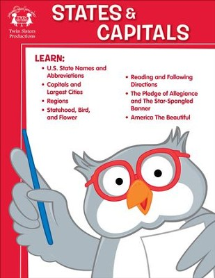States & Capitals Activity PDF & Digital Album Download  [Music Download] -