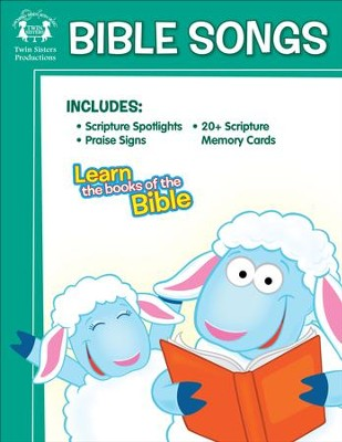Bible Songs Activity Book & Digital Album Download  [Music Download] -