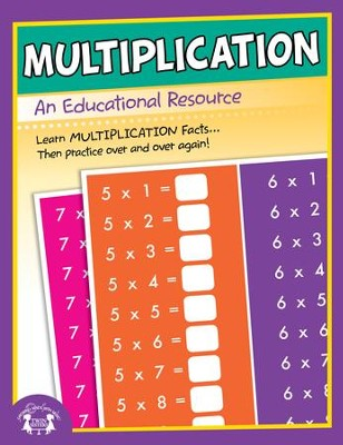 Multiplication Activity PDF & MP3   [Music Download] -