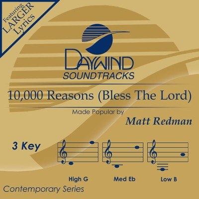 Ten Thousand Reasons  [Music Download] -     By: Matt Redman