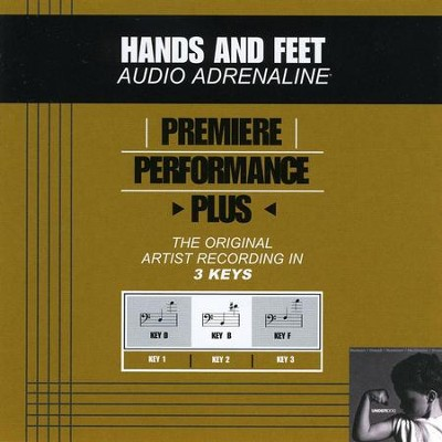 Hands And Feet (Key-F-Premiere Performance Plus)  [Music Download] -     By: Audio Adrenaline