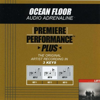 Ocean Floor (Key-C-Premiere Performance Plus w/Background Vocals)  [Music Download] -     By: Audio Adrenaline