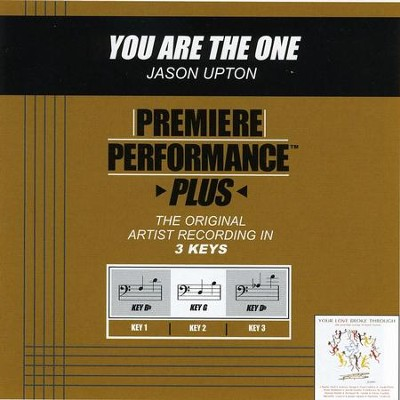 You Are The One (Key-G Premiere Performance Plus)  [Music Download] -     By: Jason Upton