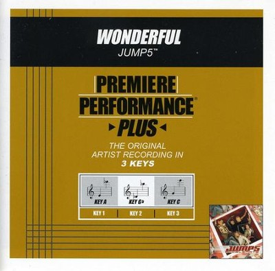 Wonderful (Key-A-Premiere Performance Plus w/o Background Vocals)  [Music Download] -     By: Jump5