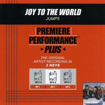 Joy To The World (Key-C-D-Premiere Performance Plus w/Background Vocals)  [Music Download] -     By: Jump5