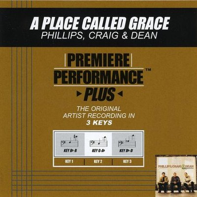 A Place Called Grace (Key-Db-D-Premiere Performance Plus)  [Music Download] -     By: Phillips Craig & Dean