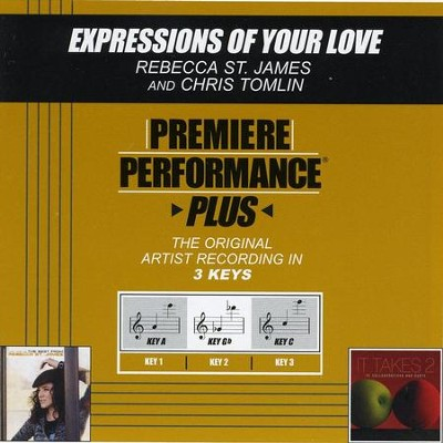 Expressions Of Your Love  [Music Download] -     By: Rebecca St. James