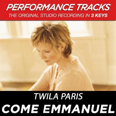 Come Emmanuel (Premiere Performance Plus Track)  [Music Download] -     By: Twila Paris