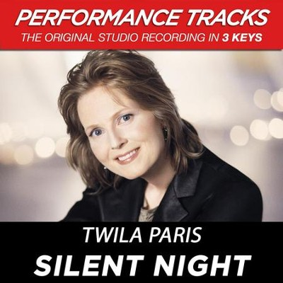 Silent Night (Premiere Performance Plus Track)  [Music Download] -     By: Twila Paris