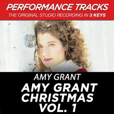 Emmanuel, God With Us (Key-C-Premiere Performance Plus w/ Background Vocals)  [Music Download] -     By: Amy Grant
