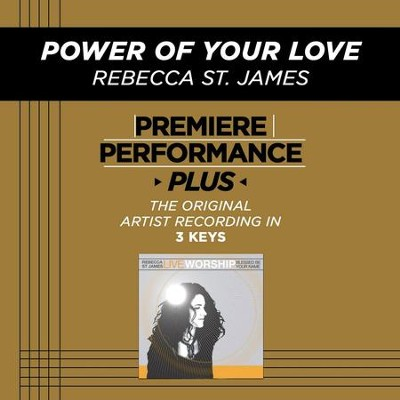 Blessed Be Your Name (Medium Key-Premiere Performance Plus w/ Background Vocals)  [Music Download] -     By: Rebecca St. James