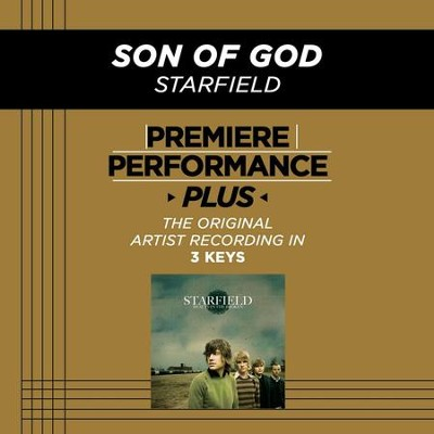 Son Of God (Medium Key-Premiere Performance Plus w/o Background Vocals)  [Music Download] -     By: Starfield