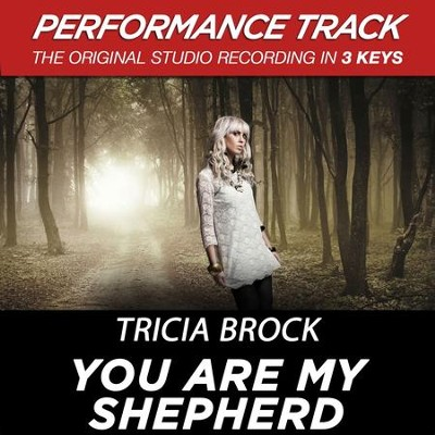You Are My Shepherd (Low Key Performance Track Without Background Vocals)  [Music Download] -     By: Tricia Brock