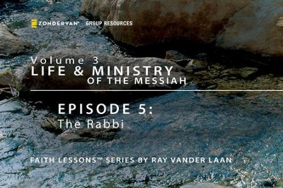 The Rabbi  [Video Download] -     By: Ray Vander Laan