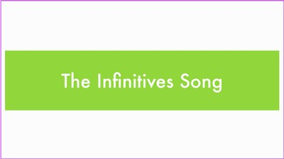 Singing Grammarian Video #16: Infinitives Song  [Video Download] -     By: H. Daniel Zacharias